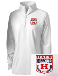 Hale Embroidered Ladies Stretched Half-Zip Pullover