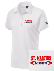 St. Martins Embroidered OGIO Women's Jewel Polo