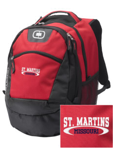St. Martins Embroidered OGIO Rogue Backpack