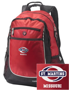 St. Martins Embroidered OGIO Carbon Backpack