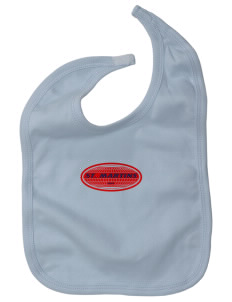 St. Martins Baby Interlock Bib