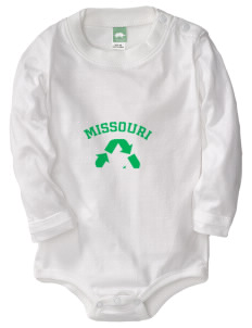 Stockton  Baby Long Sleeve 1-Piece with Shoulder Snaps
