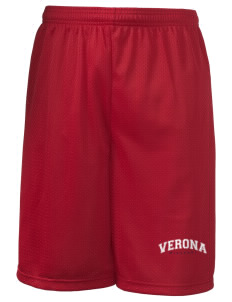 "Verona Long Mesh Shorts, 9"" Inseam"