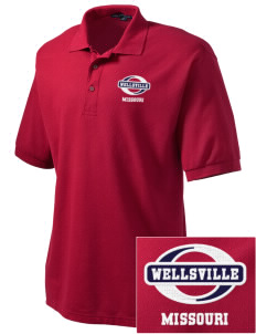 Wellsville Embroidered Men's Silk Touch Polo