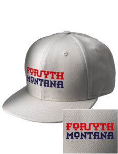 Forsyth  Embroidered New Era Flat Bill Snapback Cap