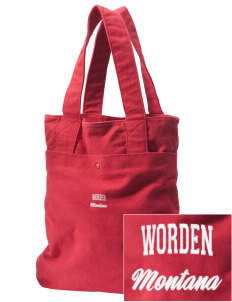 Worden Embroidered Alternative The Berkeley Tote