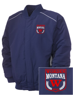 Worden Embroidered Russell Men's Baseball Jacket