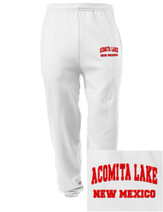 Acomita Lake Embroidered Men's Sweatpants with Pockets