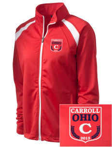 Carroll Embroidered Women's Tricot Track Jacket