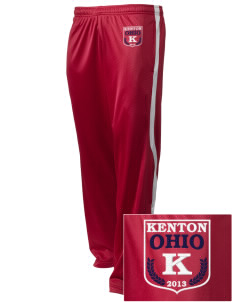 Kenton Embroidered Holloway Men's Tricotex Warm Up Pants