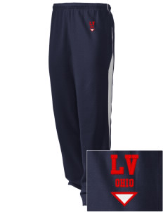 Lincoln Village Embroidered Holloway Men's Pivot Warm Up Pants