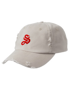 Summit Embroidered Distressed Cap