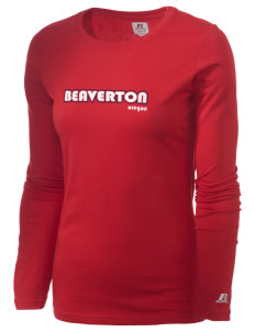 Beaverton  Russell Women's Long Sleeve Campus T-Shirt