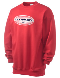 Canyon City Men's 7.8 oz Lightweight Crewneck Sweatshirt