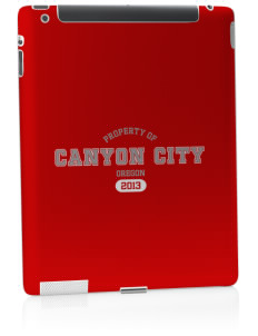 Canyon City Apple iPad 2 Skin
