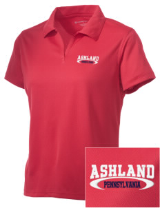 Ashland Embroidered Women's Double Mesh Polo