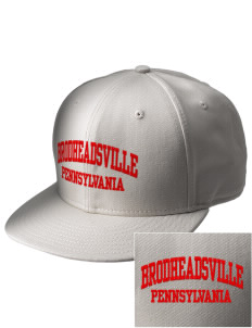 Brodheadsville  Embroidered New Era Flat Bill Snapback Cap