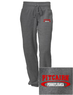 Pitcairn Embroidered Alternative Women's Unisex 6.4 oz. Costanza Gym Pant