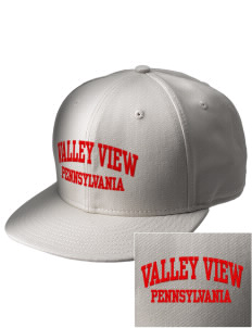 Valley View  Embroidered New Era Flat Bill Snapback Cap