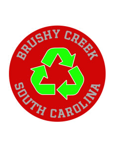Brushy Creek Sticker