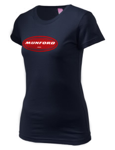 Munford  Juniors' Fine Jersey Longer Length T-Shirt