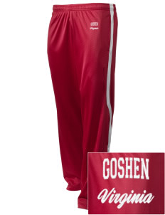 Goshen Embroidered Holloway Men's Tricotex Warm Up Pants