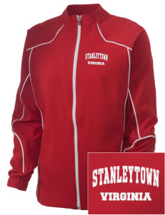 Stanleytown Embroidered Russell Women's Full Zip Jacket