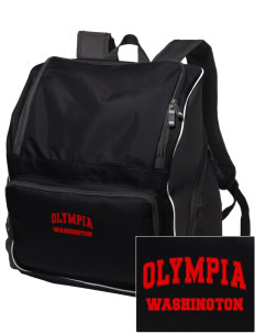 Olympia Embroidered Holloway Backpack