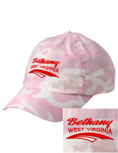 Bethany Embroidered Camouflage Cotton Cap