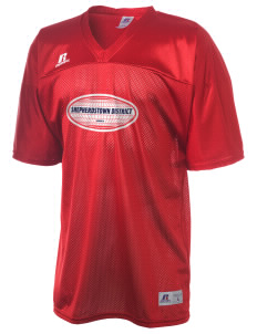 Shepherdstown district  Russell Men's Replica Football Jersey