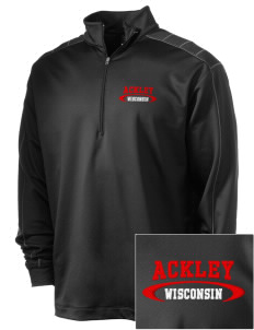 Ackley Embroidered Nike Men's Golf Dri-Fit 1/2 Zip