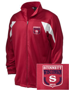 Stinnett Embroidered Holloway Men's Full-Zip Track Jacket