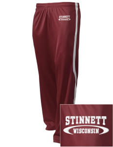 Stinnett Embroidered Holloway Men's Tricotex Warm Up Pants