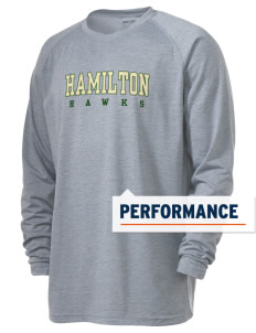 Hamilton Elementary School Hawks Men's Ultimate Performance Long Sleeve T-Shirt