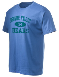 Browns Valley Elementary School Bears Hanes Men's 6 oz Tagless T-shirt