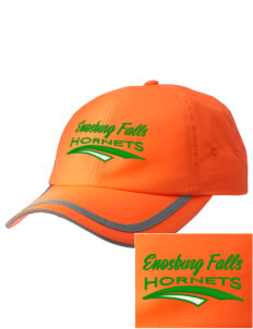 Enosburg Falls Middle High School Hornets  Embroidered Safety Cap