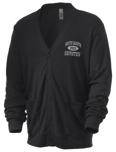 University of South Dakota Coyotes Men's 5.6 oz Triblend Cardigan