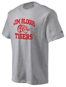 Jim Bloggs School Tigers Champion Men's Tagless T-Shirt