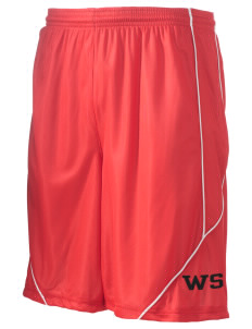 "West Seattle YMCA Dolphins Men's Pocicharge Mesh Reversible Short, 9"" Inseam"