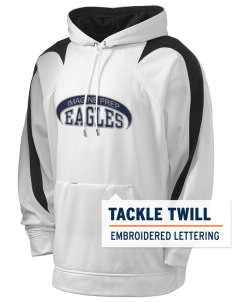 Imagine Prep at Coolidge Eagles Holloway Men's Sports Fleece Hooded Sweatshirt with Tackle Twill