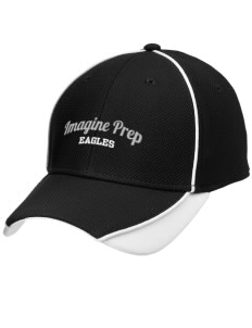 Imagine Prep at Coolidge Eagles Embroidered New Era Contrast Piped Performance Cap