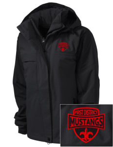 First District Elementary School Mustangs  Embroidered Women's Nootka Jacket