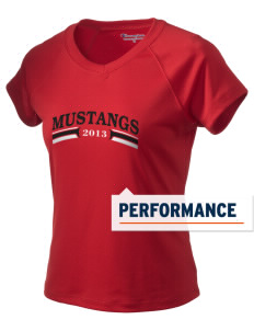 First District Elementary School Mustangs Champion Women's Wicking T-Shirt