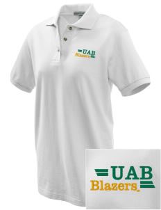 University of Alabama at Birmingham Blazers Embroidered Women's Pique Polo