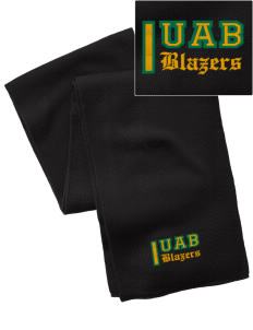 University of Alabama at Birmingham Blazers  Embroidered Knitted Scarf