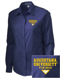 Augustana College Vikings Embroidered Women's Easy-Care Shirt