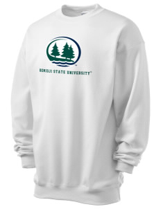 Bemidji State University Beavers Men's 7.8 oz Lightweight Crewneck Sweatshirt