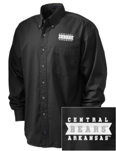 University of Central Arkansas Bears Embroidered Tall Men's Twill Shirt