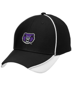 University of Central Arkansas Bears Embroidered New Era Contrast Piped Performance Cap