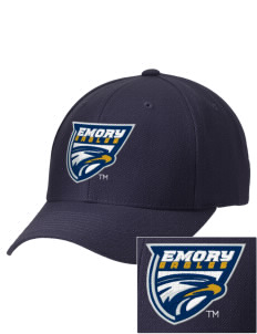 Emory University Eagles Embroidered Wool Adjustable Cap